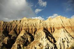Bad-lands le Dakota du Sud Image libre de droits