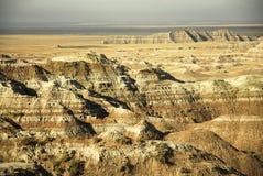Bad-lands le Dakota du Sud Photos stock