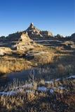 Bad-lands, le Dakota du Sud. Photographie stock libre de droits