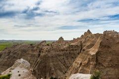Bad-lands, le Dakota du Sud Image stock