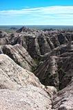 Bad Lands, South Dakota Royalty Free Stock Photos
