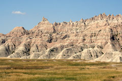 Bad-lands stationnement national, le Dakota du Sud Photos libres de droits