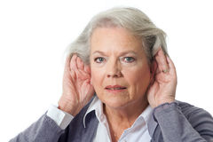 Bad listen Royalty Free Stock Image