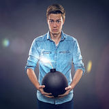 Bad luck royalty free stock photography