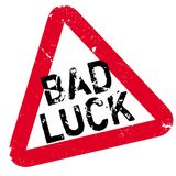 Bad Luck rubber stamp Royalty Free Stock Photo