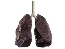 bad lung stock photography