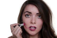 Bad make up day Royalty Free Stock Photos