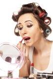 Bad makeup Stock Images