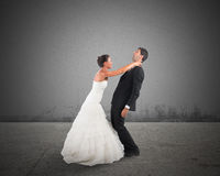 Bad marriage Stock Photos