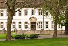 Bad Mergentheim i Tyskland Arkivfoto