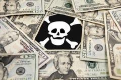 Bad money Royalty Free Stock Photo
