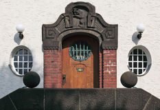 Bad Nauheim Door & Window Royalty Free Stock Images