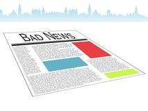 Bad news Stock Photography