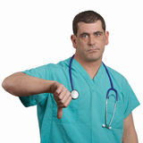 Bad news doctor Stock Image