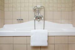 Bad och dusch Royaltyfria Bilder