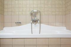 Bad och dusch Royaltyfri Foto