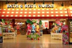 Bad- och kropparbeten shoppar Fotografering för Bildbyråer