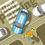 Bad parking Royalty Free Stock Image