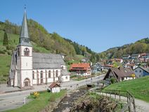 Bad Peterstal,Black Forest,Germany Royalty Free Stock Image