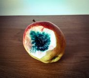 Bad poisoned apple Royalty Free Stock Photography