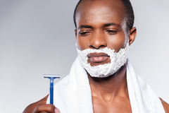 Really bad razor. Royalty Free Stock Image