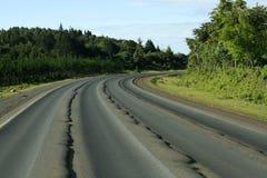 Bad road Royalty Free Stock Photos