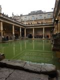 Bad Roman Baths arkivbilder