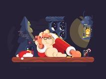 Free Bad Santa Claus Royalty Free Stock Photos - 80609148