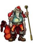 Bad Santa Claus Royalty Free Stock Photo