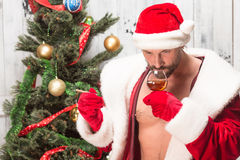 Bad Santa Clause Stock Images