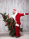 Bad Santa Clause Stock Photography