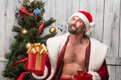 Bad Santa Clause Royalty Free Stock Image
