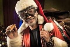 Bad Santa is coming Stock Photo