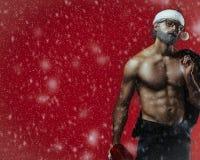 Bad santa fantasy stock photo