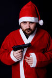 Bad santa Royalty Free Stock Photography