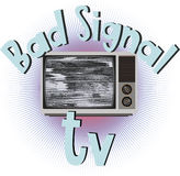 Bad signal tv Stock Photography