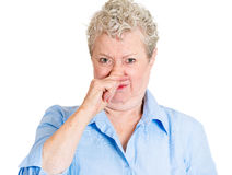 Bad smell Stock Photo