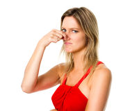 Bad smells! Royalty Free Stock Image