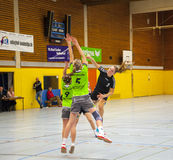 Handball Match Ladies WSG C2 TS Stock Photos
