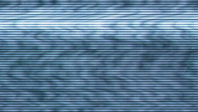 Bad Sync TV, Television Screen with Static Noise from Bad Broadcast Signal Reception. As Analogue Technology Background stock footage