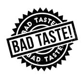 Bad Taste rubber stamp. Grunge design with dust scratches. Effects can be easily removed for a clean, crisp look. Color is easily changed Royalty Free Stock Photos