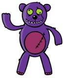 Bad Teddy bear Stock Image