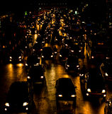Bad traffic Stock Image