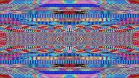 Bad tv imitation vintage nostalgic fashion shimmering background.