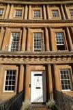 BAD UK - JUNI 7, 2014: Detalj av georgisk arkitektur i cirkusen royaltyfri fotografi