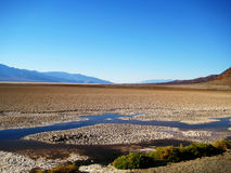 Bad water basin. In Death Valley National Park (California, USA Royalty Free Stock Image