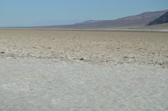 Bad Water Basin. The Lowest Place Below The Sea Level. Gigantic Salt Lagoons. Travel holydays Geology. June 28, 2018. Death Valley California. EEUU. USA Stock Image