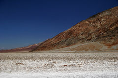 Bad water of Death Valley Royalty Free Stock Photos