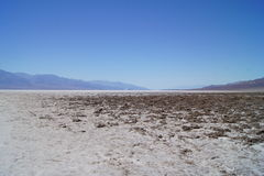 Bad water, Death Valley Stock Image