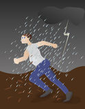 Bad weather Stock Images